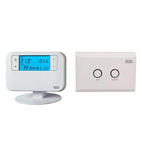 ESI - Energy Saving Innovation Controls ESRTP4RF Wireless Programmable Room Thermostat, White