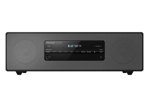 Panasonic SC-DM504EG-K Micro Hi-Fi System In Black, 40 Watt RMS, Digital Radio DAB+, CD, FM Radio, Bluetooth, USB, AUX