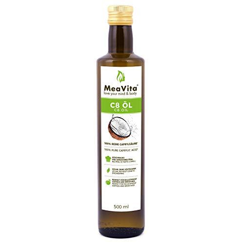 MeaVita, Coconut Based MCT Oil