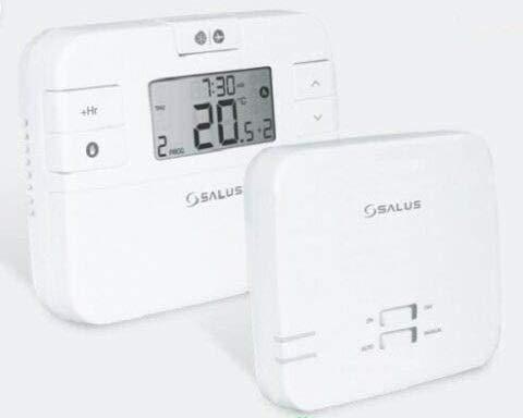 SALUS RT510RF+ Digital Wireless Room Thermostat STAT PROGRAMMABLE ' Boiler Plus Compliant '