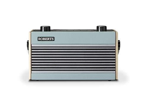 Roberts Rambler BT Retro/Digital Portable Bluetooth Radio with DAB/DAB+/FM RDS Wavebands - Blue