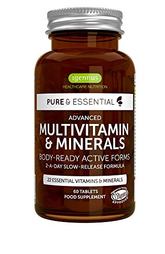 Pure & Essential Advanced Multivitamin and Minerals with Vit D3 and K2
