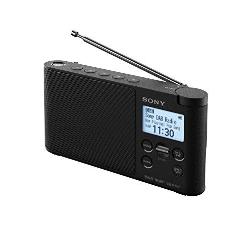 Sony XDR-S41D Portable DAB/DAB+ Wireless Radio with LCD Display