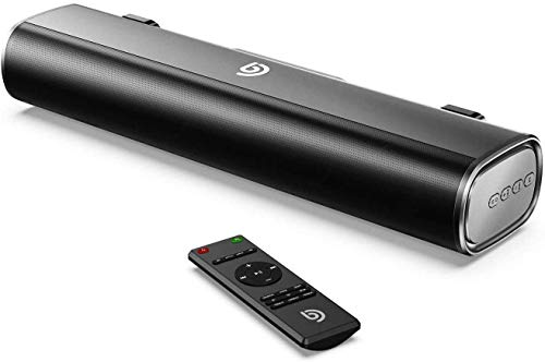 BOMAKER Compact Sound Bar, 105db, 50W for PC or TV