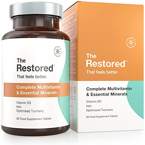 The Restored - High Strength Vitamin C, D, Zinc, Iron, Ginger and Turmeric