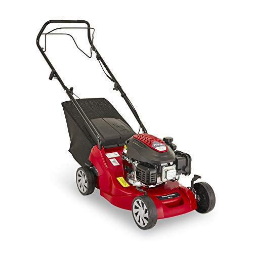 Mountfield SP41 Petrol Lawnmower, Self-Propelled, 39cm cutting width, 123cc ST120 Autochoke petrol engine, Up to 250m², Includes 40L Grass Collector