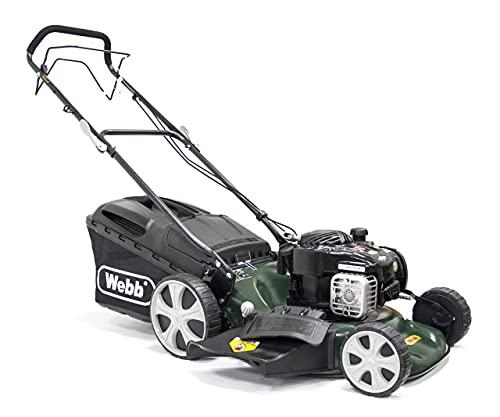 Webb WER18HW 'Supreme' Self-Propelled Hi-Wheel Petrol Lawnmower