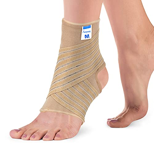 Actesso Ankle Support Sleeve with Strap