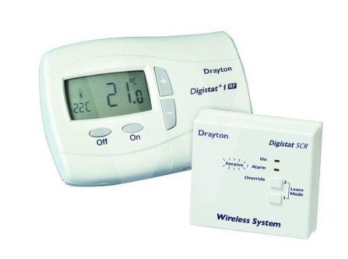 Drayton RF710 Digistat +1 RF Wireless Room Thermostat