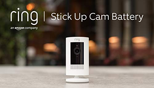 Ring Stick Up Cam Wire Free CCTV