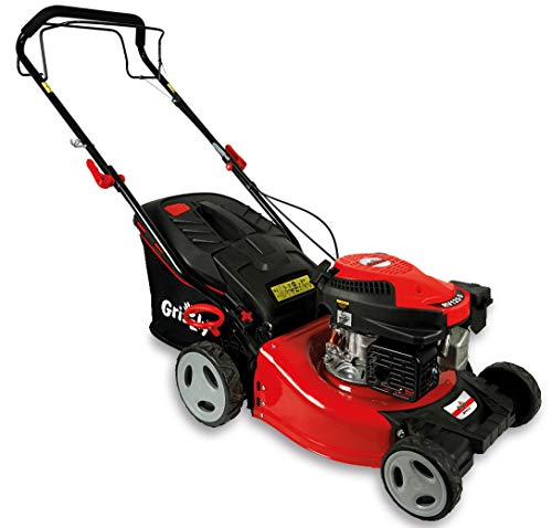 Grizzly Petrol Lawnmower with Rear Wheel Drive