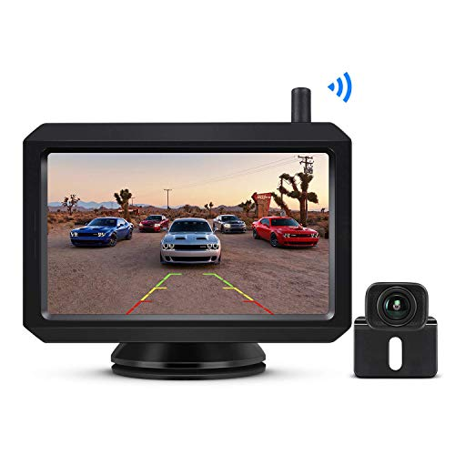 """BOSCAM K7 Digital Wireless Reversing Camera Kit, 5"""" TFT-LCD Monitor With Stable Clear Image, Night Vision Rear View Camera, For Hatchback, SUV, Lorry, Van, MPV, Cargo Van"""