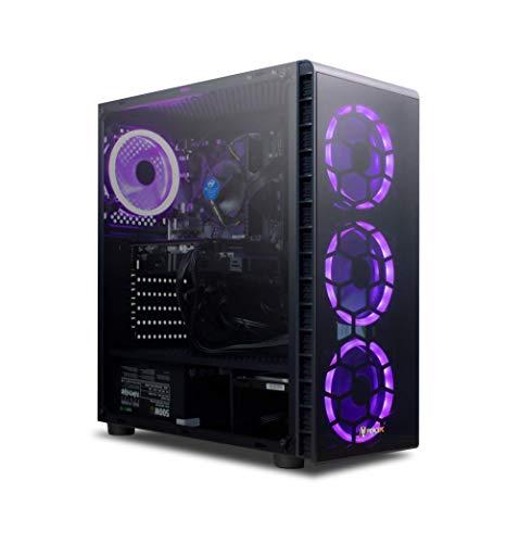 Fierce HIGH FPS Gaming PC - Intel Core i5 9400F 4.1GHz, RTX 3060 12GB, 16GB 3000MHz, 240GB Solid State Drive, 1TB Hard Drive, Windows 10 Installed (Crusader 1141826)