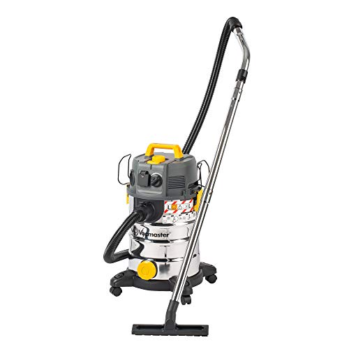 Vacmaster L Class Dust Extractor 240V | Industrial Wet and Dry Vacuum Cleaner with HEPA 13 Filtration for Commercial & Professional Use (30L with Push Clean Filter)