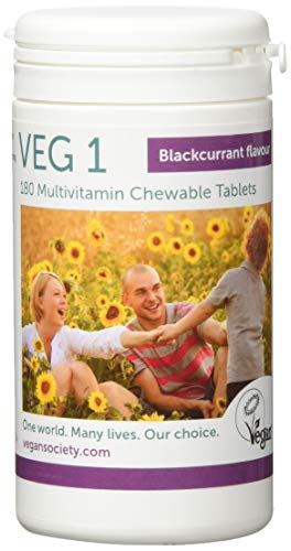 Veg1 Blackcurrant Multivitamins and Minerals Tablets