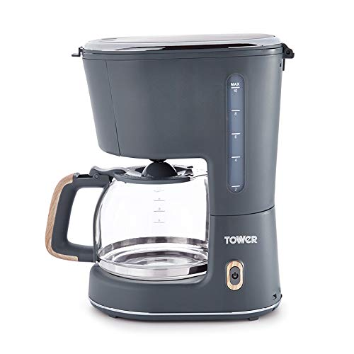 Tower Scandi T13006G Coffee Maker