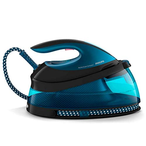 Philips PerfectCare Compact Steam Generator iron GC7833/80 with no burns guaranteed, 350g steam boost, 1.5 L