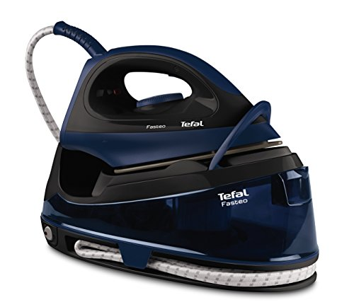 Tefal SV6050 Fasteo Steam Generator, 2200 W, Black/Blue