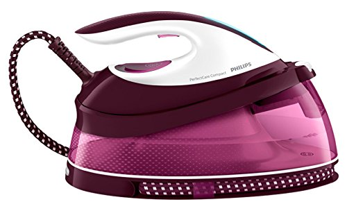 Philips PerfectCare Compact Steam Generator iron GC7808/40 with no burns guaranteed, 280g steam boost, 1.5 L