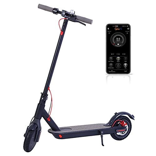 Electric Scooter Foldable Scooter with 350W Motor And 36V 7.8AH Lithium Battery,Max Speed 30Km/H,40Km Long-Range,Rear Wheel Disc Brake,Adults And Kids Super Gifts