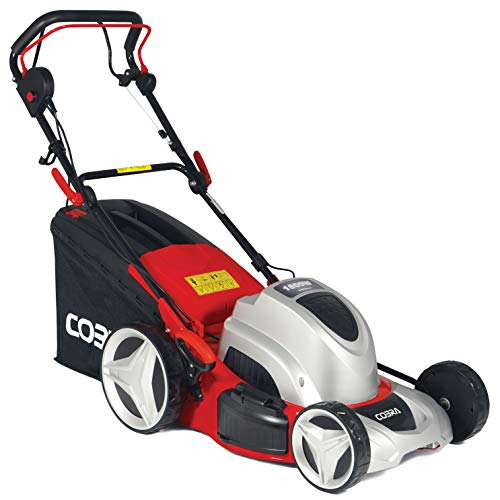Cobra MX46SPE 46cm (18in) Electric Lawnmower, Self propelled drive and powerful 1800w motor