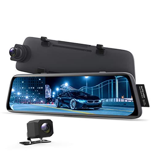AUTO-VOX V5 Mirror Dash Cam 1080P Dual Dash Cam