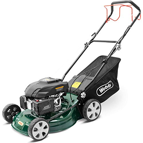 Webb Classic Self Propelled Petrol Rotary Lawnmower