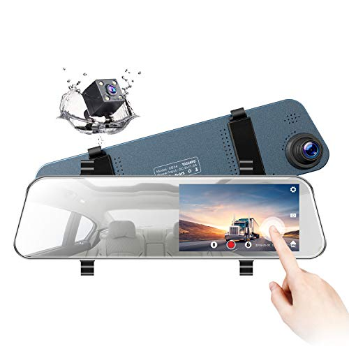 TOGUARD Mirror Dash Cam