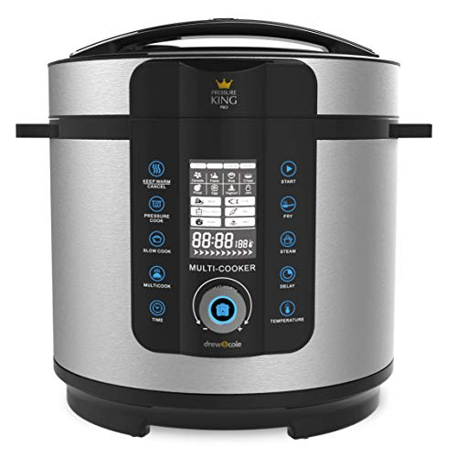 Drew & Cole Pressure King Pro Electric Pressure Cooker 20-in-1 Multi Cooker