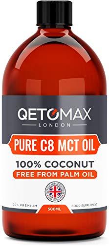 Qetomax, Zero Palm Oil, 100% Coconut