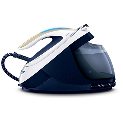 Philips GC9630/20 PerfectCare Elite Steam Generator Iron with Optimal Temperature and 420g Steam Boost, 1.8 Litre, 2400 W, 6.7 Bar, Navy