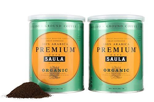 Premium Organic Ground Coffee