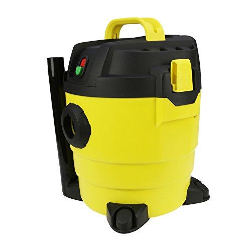 Qualtex QUAK411 Wet & Dry Vacuum Cleaner, Plastic