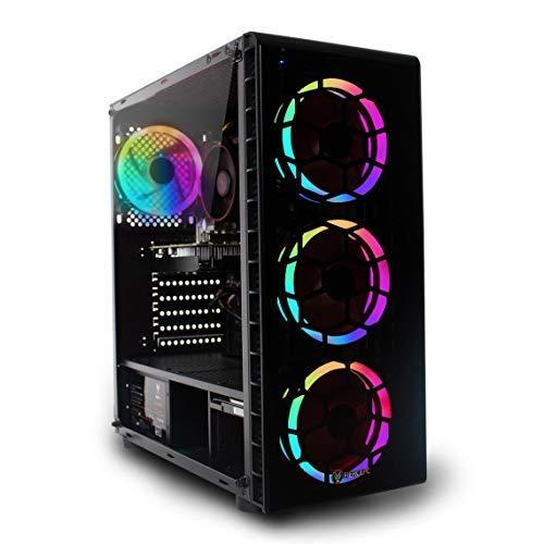 Fierce RGB Gaming PC - Intel Core i5 9400F 4.1GHz, GTX 1660 SUPER 6GB, 16GB 3000MHz, 240GB Solid State Drive, 1TB Hard Drive, Windows 10 Installed (Crusader 1141828)