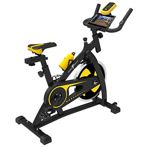 Nero Sports Upright Exercise Bike Indoor Studio Cycles Aerobic Training Fitness Cardio Bike