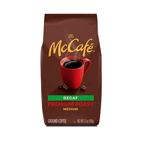 McCafe Premium Roast Decaf Medium Ground McDonald's coffee