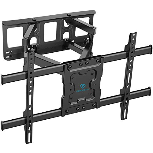PERLESMITH Full Motion TV Wall Mount for 37-70 Inch TVs