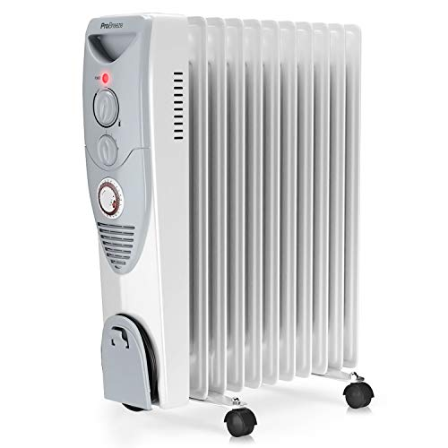 ProBreeze 2.5KW Oil Filled Electric Radiator