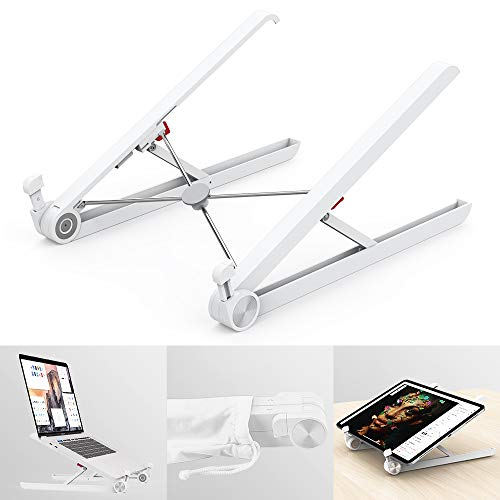 Klearlook Laptop Stand Holder, Foldable Portable Ventilated and Adjustable