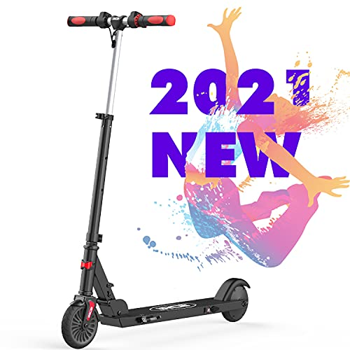 RCB Electric Scooters for kids, adjustable folding, 20 km/h Max, Speed Scooter Lightweight IP4 Waterproof Reflective Sticker Anti-Slip Handlebar