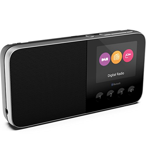 Pure UK Move T4 Pocket Rechargeable Personal FM/DAB+/DAB Digital Radio