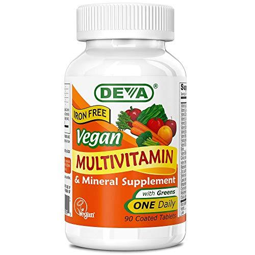Deva Vegan Multivitamin & Mineral Supplement