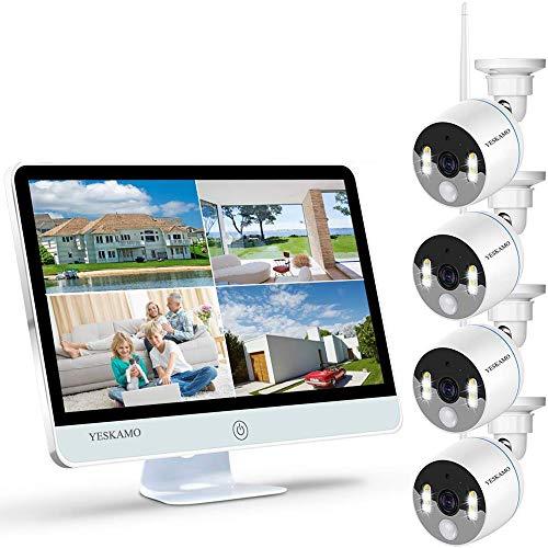 YESKAMO Wireless CCTV Camera System