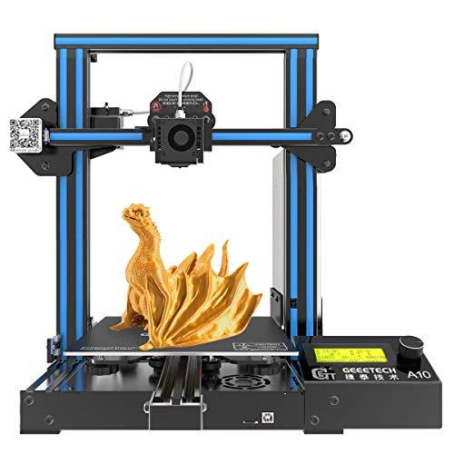 GEEETECH A10 3D Printer Aluminum Prusa I3 Half Assembled