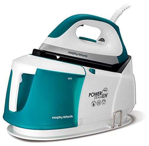 Morphy Richards Steam Generator Iron 332014 Power Steam Elite with Auto Clean and Safety Lock Morphy Richards Steam Generator Iron Green/White