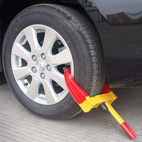 ViVo © Heavy Duty Wheel Clamp Lock Cars Trailer Caravan Security Anti Theft Car Locking Claw NEW Pro DIY Van Caravan Motorhome