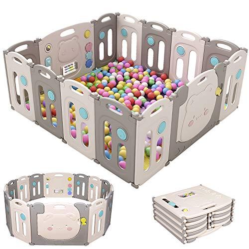 Hadwin 14 Panel Baby Playpen