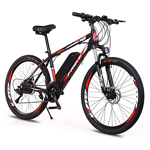 DDFGG Ebike,Electric bicycles, adult electric bicycles, electric mountain bikes,26'' Electric Bikes for Adults, 250W Electric Bicycle E-bike with 8Ah Removable Lithium Battery,21-speed(Color:M001)