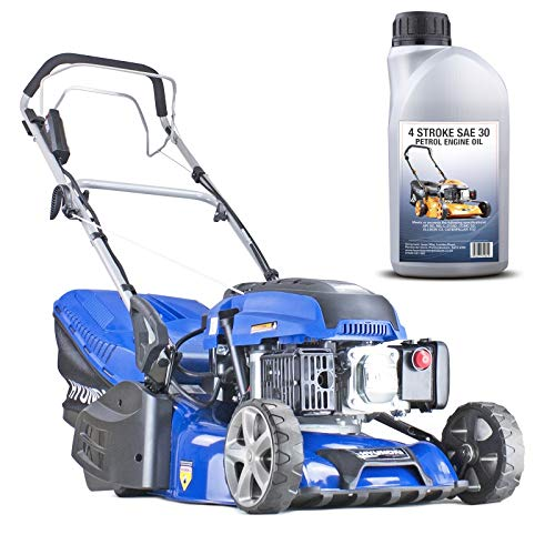 Hyundai HYM430SPER Self Propelled Electric Start Petrol Roller Lawn Mower