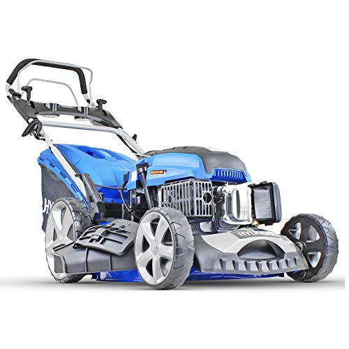 Hyundai HYM510SPE Petrol Lawnmower, Self Propelled, Push Button Electric Start